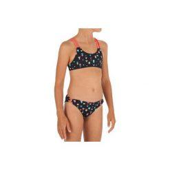Kostium 2cz BAHIA TAPOO JR. Brązowe stroje kąpielowe dla dziewczynek OLAIAN. W wyprzedaży za 29.99 zł.
