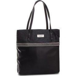 Torebka MONNARI - BAG9320-020 Black. Czarne torebki do ręki damskie Monnari, ze skóry ekologicznej. W wyprzedaży za 199.00 zł.