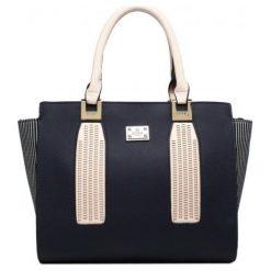 Bessie London Torebka Damska Ciemnoniebieska. Czarne torebki do ręki damskie Bessie London, z materiału. Za 246.00 zł.