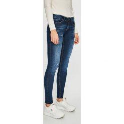 Jacqueline de Yong - Jeansy Feline. Niebieskie jeansy damskie Jacqueline de Yong. Za 169.90 zł.