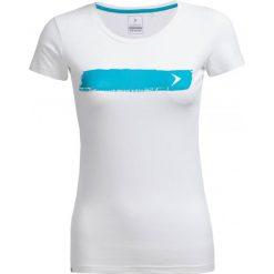 T-shirt damski TSD606 - biały - Outhorn. Białe t-shirty damskie Outhorn, z bawełny. W wyprzedaży za 24.99 zł.