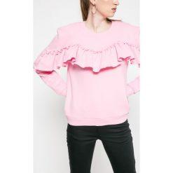 Only - Bluza Dream Frill. Szare bluzy damskie Only, z bawełny. W wyprzedaży za 59.90 zł.