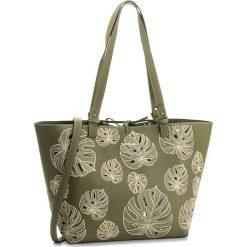 Torebka DESIGUAL - 18SAXPB3 4124. Zielone torebki do ręki damskie Desigual, z materiału. W wyprzedaży za 229.00 zł.