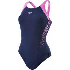 Speedo Strój Boom Splice Muscleback Navy/Orchid 34. Fioletowe kostiumy jednoczęściowe damskie Speedo. W wyprzedaży za 135.00 zł.