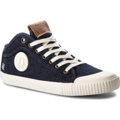 Trampki PEPE JEANS - Industry Blue Denim PMS30434 Dk Denim 559. Niebieskie trampki męskie Pepe Jeans, z denimu. W wyprzedaży za 199.00 zł.