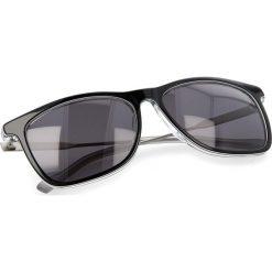 Okulary przeciwsłoneczne BOSS - 0229/S Bkwhtgry Pld LHK. Czarne okulary przeciwsłoneczne damskie Boss, z tworzywa sztucznego. W wyprzedaży za 459.00 zł.