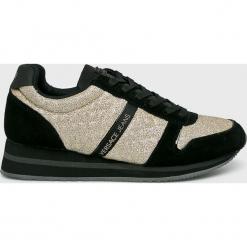 Versace Jeans - Buty. Szare obuwie sportowe damskie Versace Jeans, z gumy. W wyprzedaży za 499.90 zł.