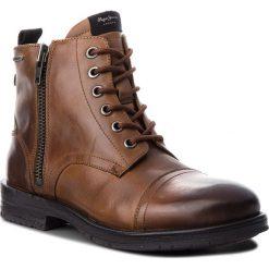 Kozaki PEPE JEANS - Tom-Cut Med Boot PMS50163 Tan 869. Brązowe kozaki męskie Pepe Jeans, z jeansu. W wyprzedaży za 439.00 zł.