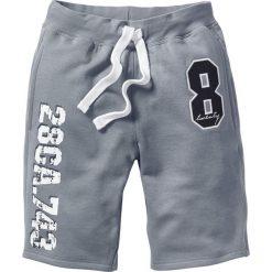 Bermudy dresowe bonprix szary melanż. Spodnie sportowe męskie marki bonprix. Za 69.99 zł.