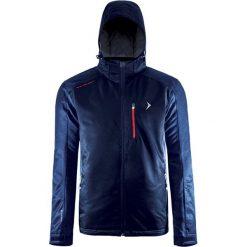 Kurtka narciarska w kolorze granatowym. Niebieskie kurtki męskie Outhorn. W wyprzedaży za 189.95 zł.