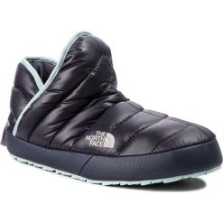 Kapcie THE NORTH FACE - Thermoball Traction Bootie T9331H5QC  Shiny Blackened Pearl/Blue Haze. Niebieskie kapcie damskie The North Face, z materiału. Za 249.00 zł.