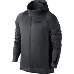 Nike Bluza męska Therma Elite Hoodie FZ STR grafitowa r. S (776095 060). Bluzy męskie marki KALENJI. Za 200.30 zł.