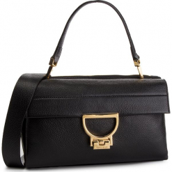 Torebka COCCINELLE - DD5 Arlettis E1 DD5 12 01 01 Noir 001. Czarne torebki do ręki damskie Coccinelle, ze skóry. Za 1,649.90 zł.
