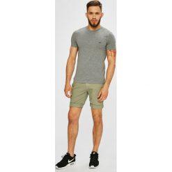 Tommy Jeans - Szorty. Szare szorty męskie Tommy Jeans, z bawełny, casualowe. W wyprzedaży za 299.90 zł.