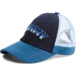 Czapka z daszkiem TOMMY HILFIGER - Tommy Patch Cap AW0AW05489 902. Niebieskie czapki i kapelusze damskie Tommy Hilfiger, z bawełny. Za 179.00 zł.