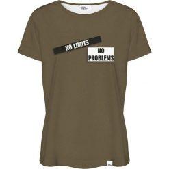 Colour Pleasure Koszulka damska CP-030 270 zielona r. XL/XXL. T-shirty damskie Colour Pleasure. Za 70.35 zł.