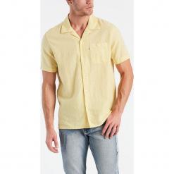 """Koszula """"Hawaiian"""" w kolorze żółtym. Żółte koszule męskie Levi's, z bawełny. W wyprzedaży za 86.95 zł."""
