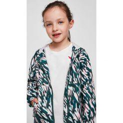 Mango Kids - Kurtka dziecięca Centen 110-164 cm. Szare kurtki i płaszcze dla dziewczynek Mango Kids, z bawełny. W wyprzedaży za 49.90 zł.