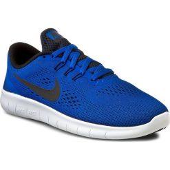 Buty NIKE - Free Rn (GS) 833989 401 Game Royal/Black/White. Niebieskie obuwie sportowe damskie Nike, z materiału. W wyprzedaży za 259.00 zł.