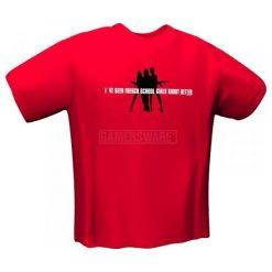 GamersWear SCHOOLGIRLS T-Shirt czerwona (L) ( 5071-L ). Czerwone t-shirty i topy dla dziewczynek GamersWear. Za 92.66 zł.