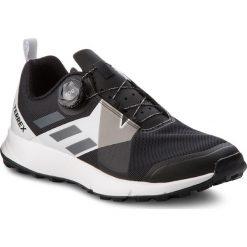 Buty adidas - Terrex Two Boa CM7574 Cblack/Grefou/Ftwwht. Czarne buty sportowe męskie Adidas, z materiału. W wyprzedaży za 379.00 zł.