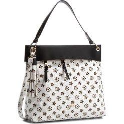 Torebka NOBO - NBAG-E2220-C000 Biały Z Czarnym. Białe torebki do ręki damskie Nobo, ze skóry ekologicznej. W wyprzedaży za 129.00 zł.