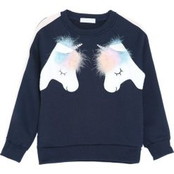 Granatowa Bluza Fresh Ideas. Niebieskie bluzy dla dziewczynek Born2be. Za 59.99 zł.