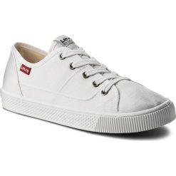 Tenisówki LEVI'S - 227841-733-150 Brilliant White. Białe trampki męskie Levi's, z gumy. W wyprzedaży za 139.00 zł.