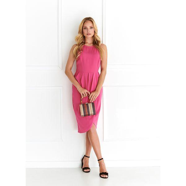 25557c8ca40636 Różowe sukienki damskie z dekoltem na plecach - Kolekcja lato 2019 -  Chillizet.pl