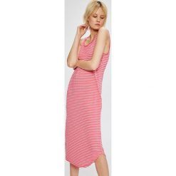 Lauren Ralph Lauren - Koszula nocna. Różowe koszule nocne damskie Lauren Ralph Lauren, z bawełny. W wyprzedaży za 259.90 zł.