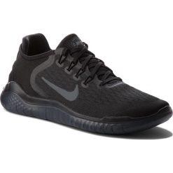 Buty NIKE - Free Rn 2018 942836 002 Black/Anthracite. Czarne buty sportowe męskie Nike, z materiału. W wyprzedaży za 349.00 zł.