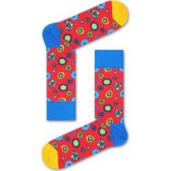 Happy Socks - Skarpety Flower Power. Czarne skarpety męskie marki Giacomo Conti, z bawełny. W wyprzedaży za 29.90 zł.