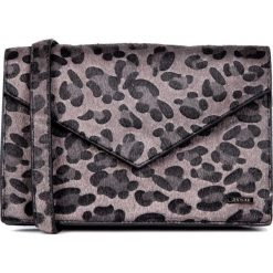 Torebka z motywem zwięrzęcym QUIOSQUE. Szare torby na ramię damskie QUIOSQUE. W wyprzedaży za 39.99 zł.