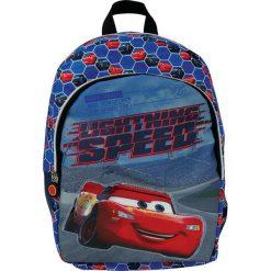 Eurocom Plecak dziecięcy duży Cars 3 niebieski (284778). Niebieskie torby i plecaki dziecięce Eurocom. Za 48.18 zł.