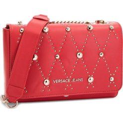 Torebka VERSACE JEANS - E1VSBBEB 70778 331. Czerwone torebki do ręki damskie Versace Jeans, z jeansu. Za 699.00 zł.