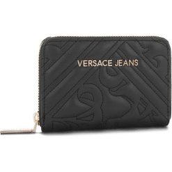 Duży Portfel Damski VERSACE JEANS - E3VSBPZ2 70792 899. Czarne portfele damskie Versace Jeans, z jeansu. Za 349.00 zł.