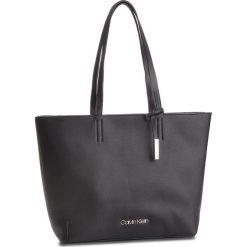 Torebka CALVIN KLEIN - Stitch Ew Shopper K60K604844 001. Czarne torebki shopper damskie Calvin Klein, ze skóry ekologicznej. Za 599.00 zł.