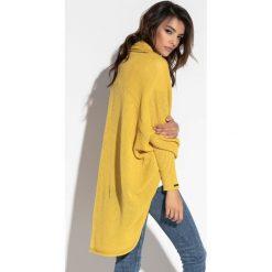 Luźny sweter oversize fb555. Czerwone kardigany damskie Fobya. Za 129.00 zł.