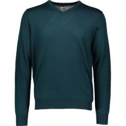 Sweter w kolorze zielonym. Zielone swetry przez głowę męskie Ben Sherman, z wełny. W wyprzedaży za 195.95 zł.