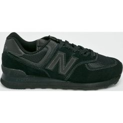 New Balance - Buty ML574ETE. Czarne buty sportowe męskie New Balance, z gumy. Za 349.90 zł.