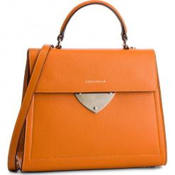 Torebka COCCINELLE - D05 B14 E1 D05 18 03 01 Flash Orange R12. Brązowe torebki do ręki damskie Coccinelle, ze skóry. Za 1,399.90 zł.