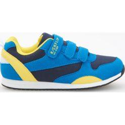 Sportowe buty zapinane na rzepy - Niebieski. Buty sportowe chłopięce marki bonprix. Za 79.99 zł.