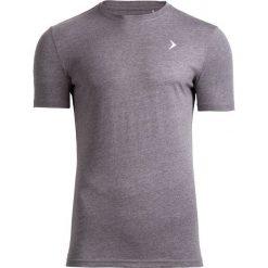 T-shirt męski TSM601 - średni szary melanż - Outhorn. Szare t-shirty męskie Outhorn, na lato, melanż, z bawełny. W wyprzedaży za 29.99 zł.