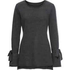 Sweter bonprix szary melanż. Swetry damskie marki KALENJI. Za 54.99 zł.