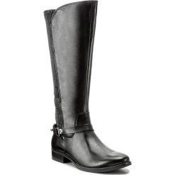 Oficerki CAPRICE - 9-25531-29 Black Nappa 022. Czarne kozaki damskie Caprice, z materiału. W wyprzedaży za 429.00 zł.