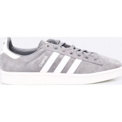 Adidas Originals - Buty Campus. Szare buty sportowe męskie adidas Originals, z materiału. W wyprzedaży za 349.90 zł.