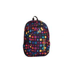 Plecak Młodzieżowy Urban W Kółka Confetti. Czarna torby i plecaki dziecięce CoolPack, z materiału. Za 99.90 zł.