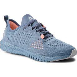 Buty Reebok - Flexagon CN2604 Blue/Grey/Pink. Niebieskie obuwie sportowe damskie Reebok, z materiału. W wyprzedaży za 279.00 zł.