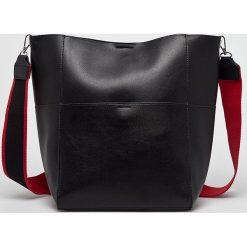 Pieces - Torebka. Czarne torby na ramię damskie Pieces. W wyprzedaży za 89.90 zł.