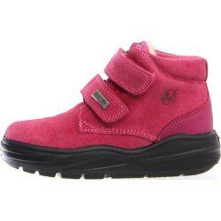 """Botki zimowe """"Kari"""" w kolorze fuksji. Botki dziewczęce Zimowe obuwie dla dzieci. W wyprzedaży za 215.95 zł."""